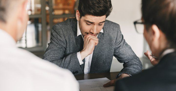 calmer les nerfs pendant un entretien