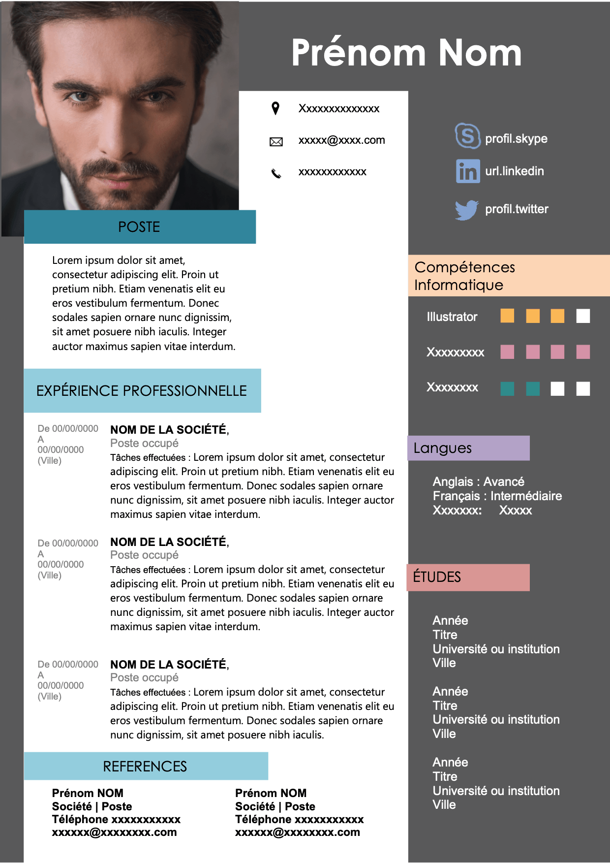 CV Originale pour un bon entretien