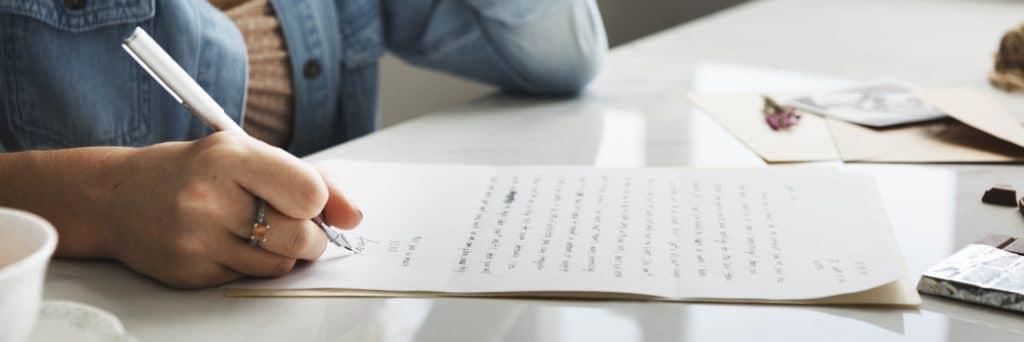 rédiger une lettre de motivation pour master