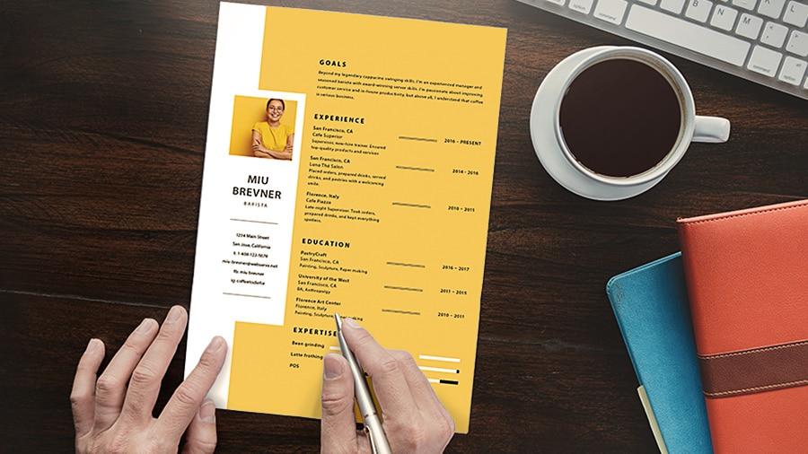 CV efficace . comment faire la maîtrise d'un cv pour étudiants