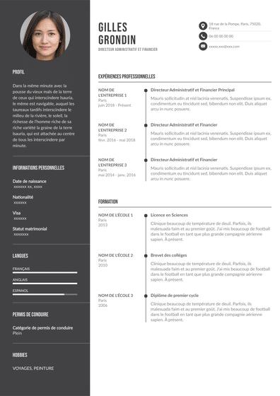 Modèle CV Plusieurs Expériences.pdf