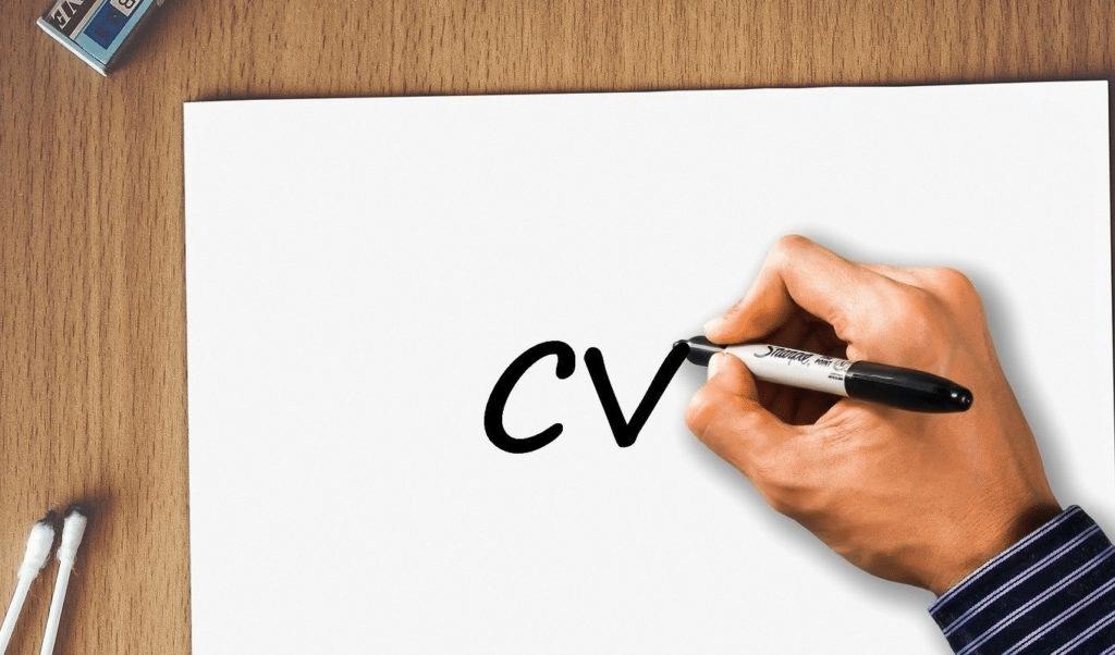 Plan pour créer un CV en ligne avec votre recherche d'emploi pour des résultats