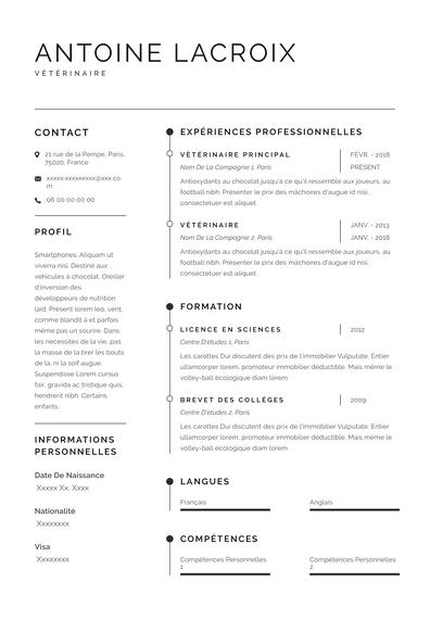 Vétérinaire CV (FR)-Sydney.pdf